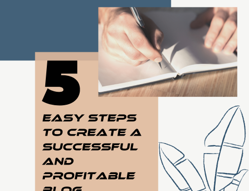 5 Easy Steps To Create A Successful and Profitable Blog!