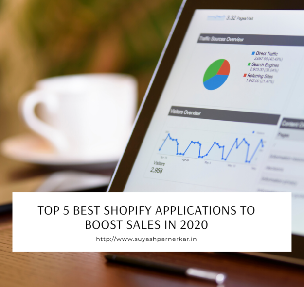 TOP 5 BEST SHOPIFY APPLICATIONS TO BOOST SALES IN 2020